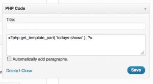 how to get pretty widgets for wordpress
